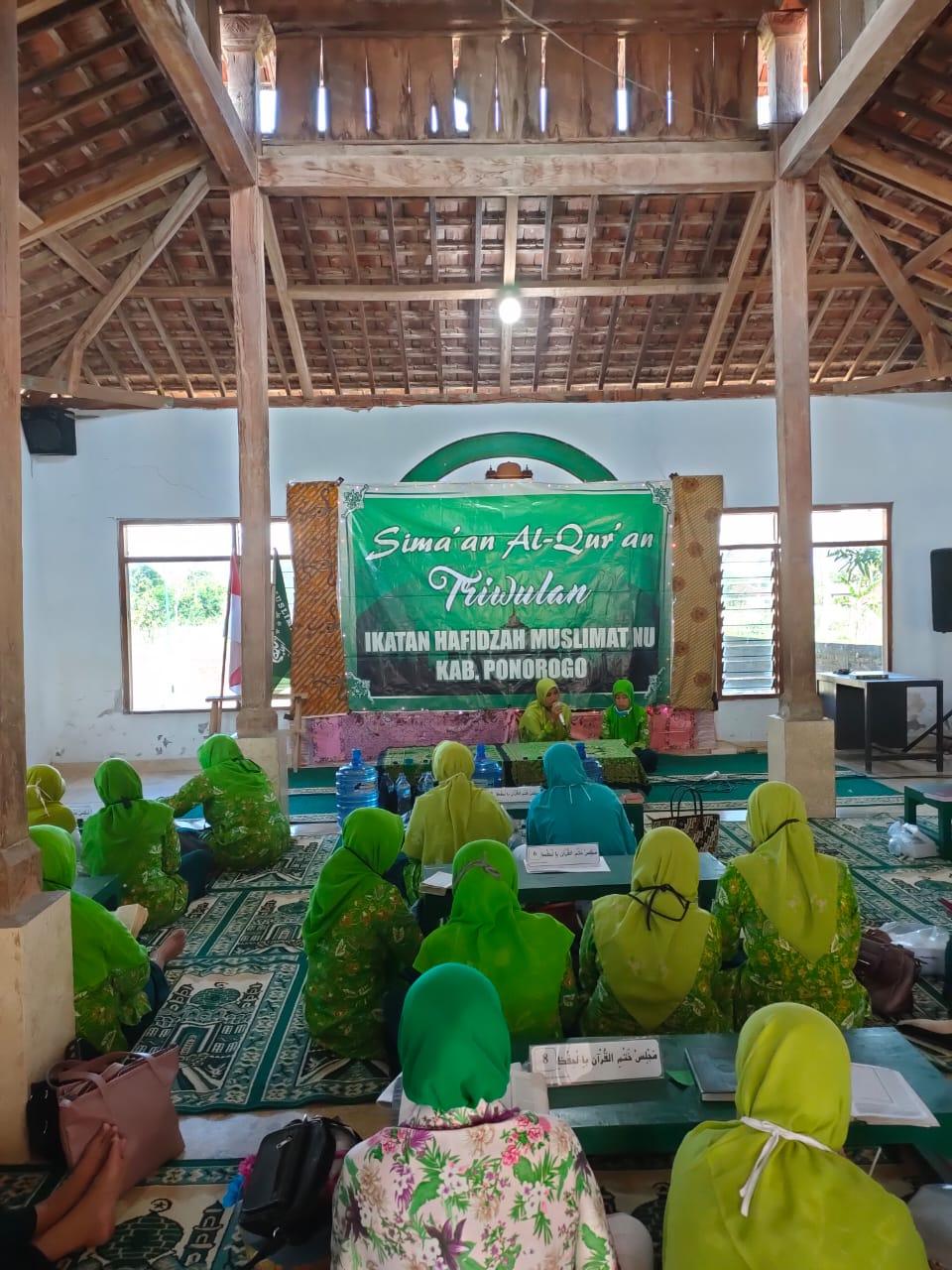 Foto Anjangsana dan Simaan al-Qur'an IHM Taati Protokol Covid-19