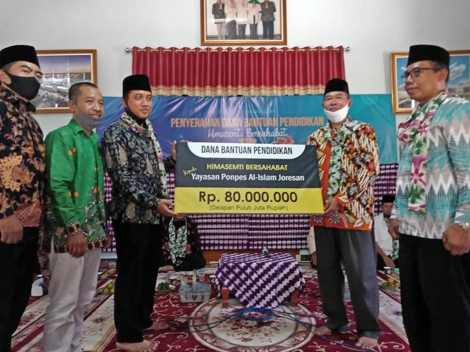 Foto Penyerahan Donasi Gedung al islam Joresan
