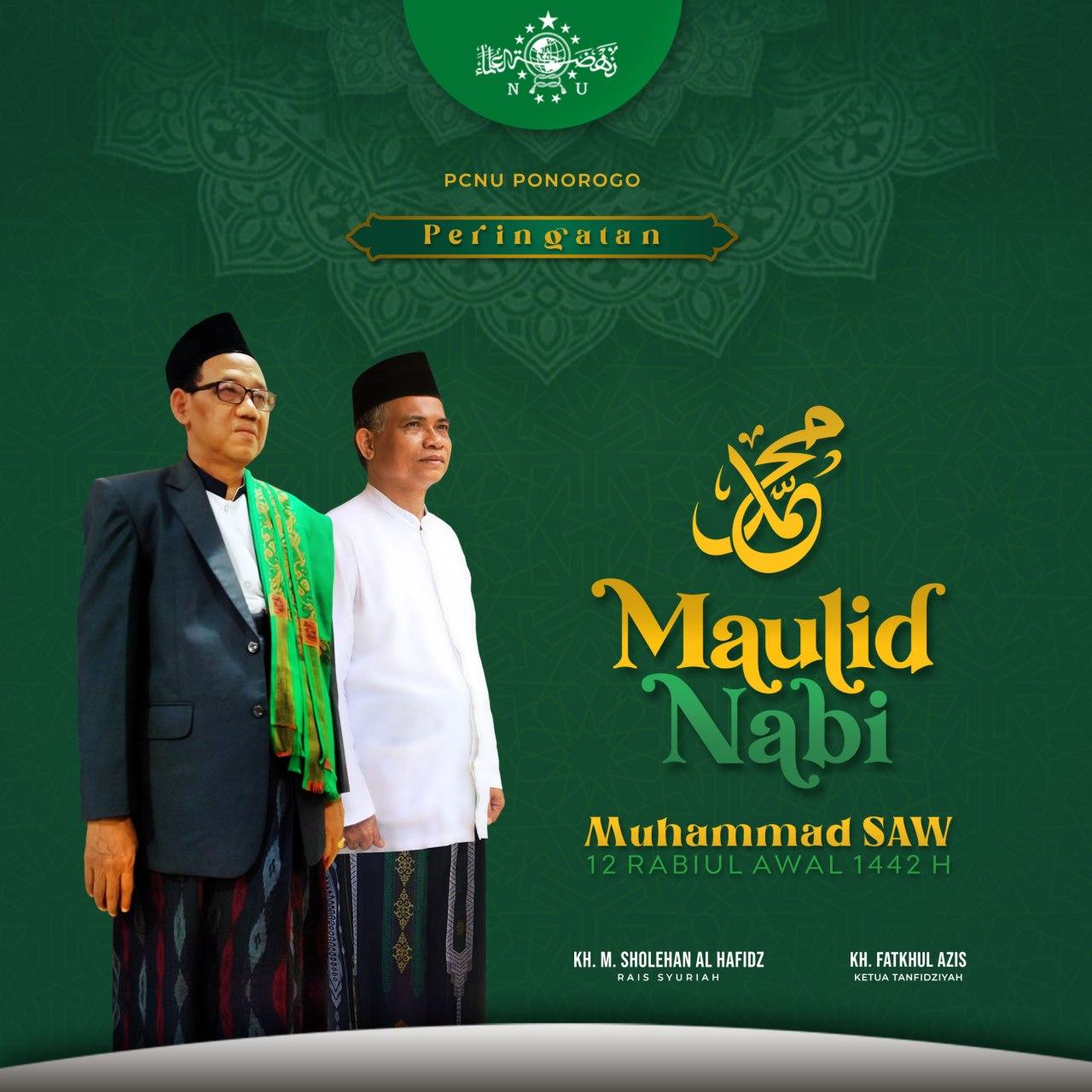 Rois Syuriah NU Ponorogo Ingatkan Maulid Nabi Muhammad SAW
