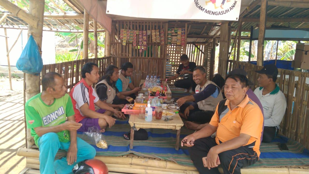 Tim LPBI NU Ponorogo koordinasi dengan Komunitas Pantangi dan Togamad DAM Cokromenggalan