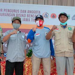 Fungsionaris LPBI NU Ponorogo sesaat setelah mengikuti rakor Forum Penanggulangan Resiko Bencana (FPRB) Provinsi Jawa Timur di Batu (21-11)