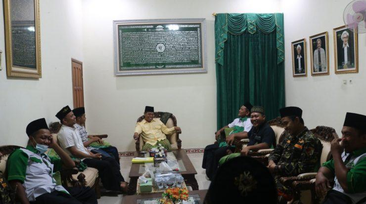 Rihlah Pengurus Ranting GP Ansor Bareng ke rumah tokoh NU Dr.H.Luthfi Hadi Aminudin, M.Ag (Sekretaris PCNU Ponorogo)