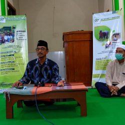 Dr.H.M.Suyudi, M.Ag, Direktur Pascasarjana IAI Sunan Giri Ponorogo tampil memberikan tausiyah