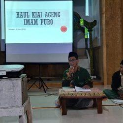 Lailatul Ijtima' PR NU Sukosari di masjid Imampuro