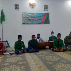 Pembukaan Konferensi Anak Cabang (Konferancab) GP Ansor Sukorejo di aula MWC NU Sukorejo