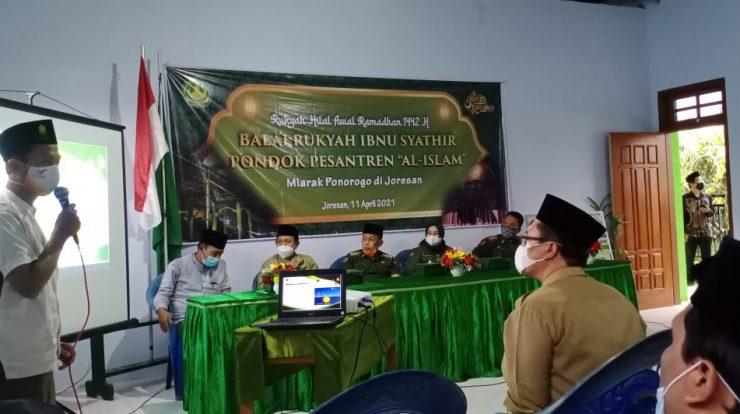 Ponpes Al-Islam Joresan Gelar Rukyatul Hilal disaksikan Bupatidan Wabup