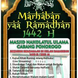 Sambut Ramadhan 1442 H di Masjid NU Ponorogo