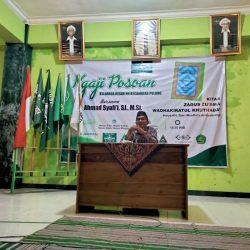 Pengajian K. Ahmad Syafi'i SJ, M.S.I yang disiarkan di kanal Youtube NU Pulung dan berbagai platform digital lainnya.