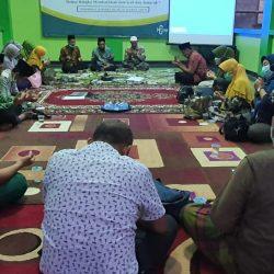 Rakor Korkat Pengembangan Umat PCNU, PC Muslimat NU, BPPKNU dan Jajaran Direksi RSU Muslimat Ponorogo di rumah Sekretaris BPPKNU, Agus Khoirul Hadi, Kamis (29/4)