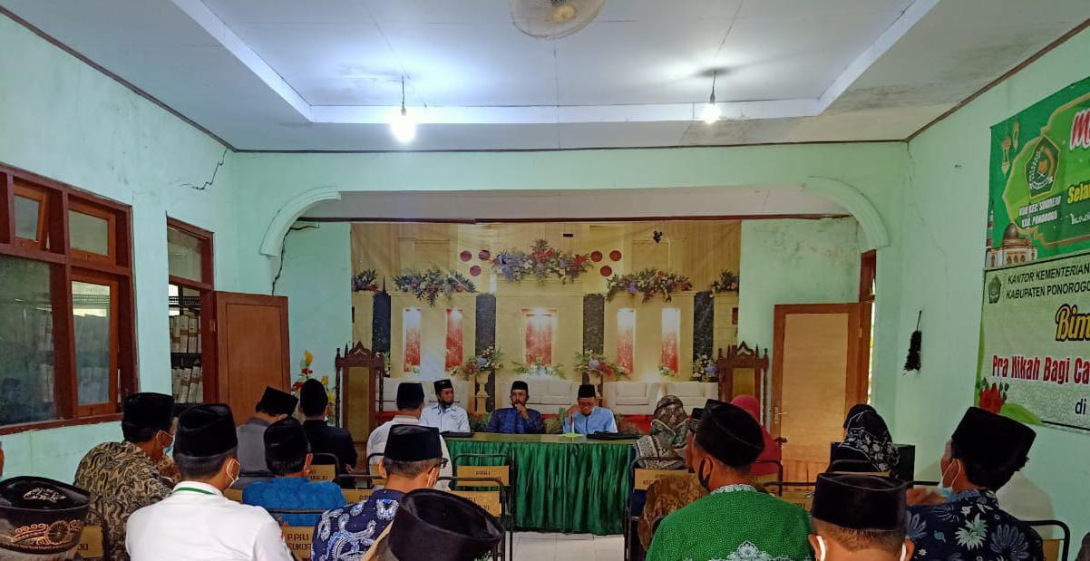 Sosialisasi Amil Zakat di aula KUA kec.Sukorejo