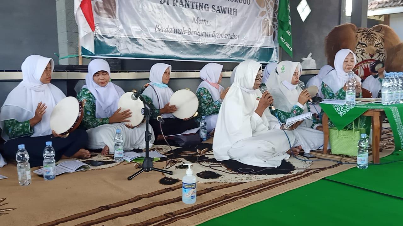 Kompak Group Habsyi Assyida Nada tampil mengiringi Ratibul Hadad, Manakib dan Maulidurrasul