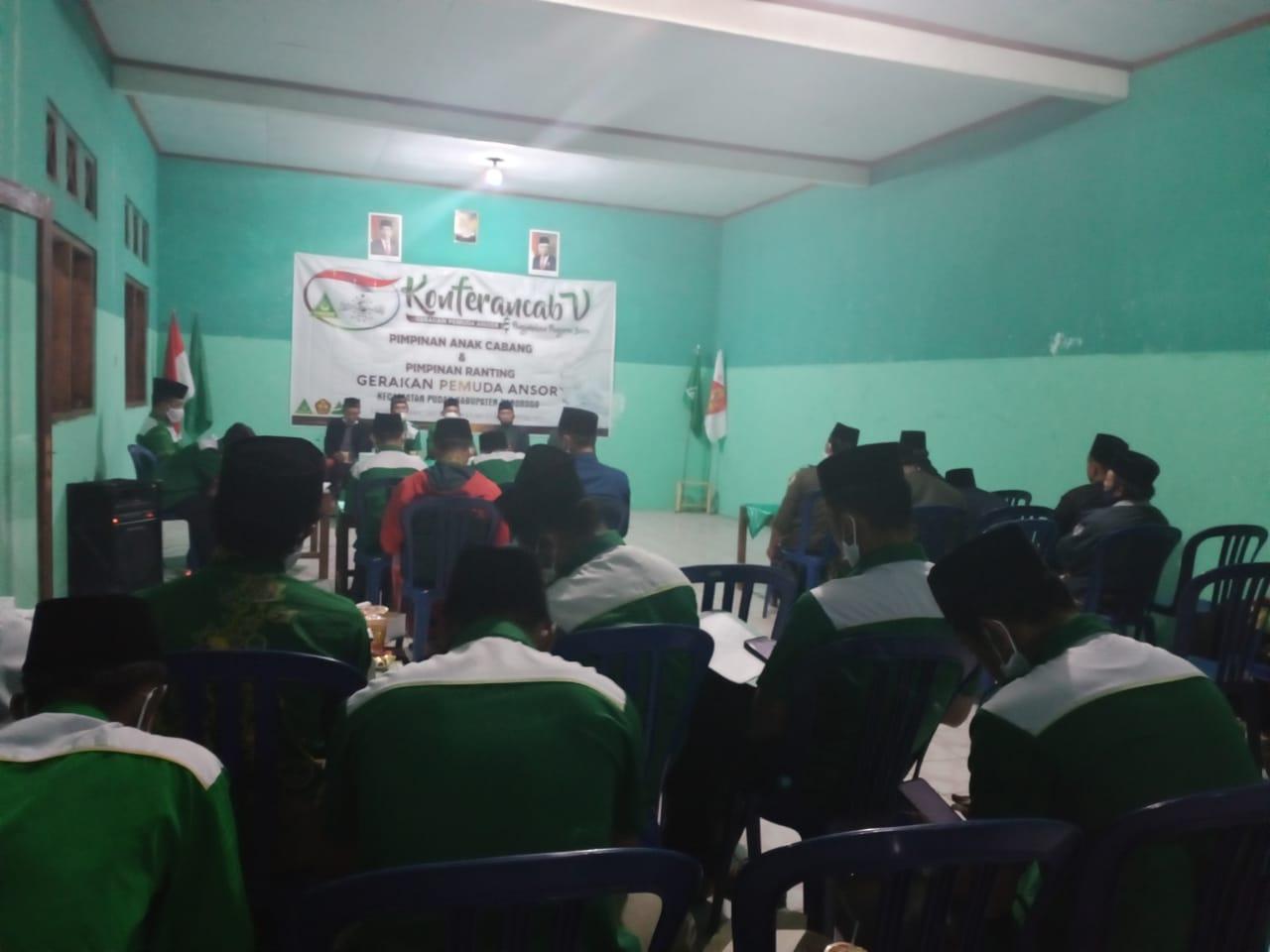 Penegasan Peraturan Organisasi Peserta Konferancab GP Ansor Pudak serius mengikuti sidang pleno