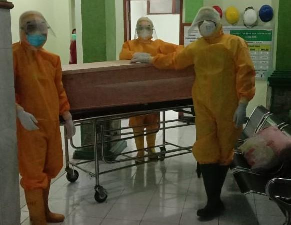 Banser Ponorogo Siap Layani Jenazah Covid-19