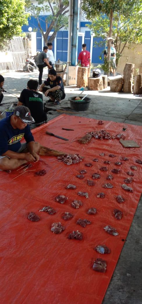 PAC GP Ansor Kota siap bagikan daging kurban kepada warga