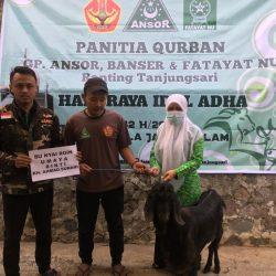 Pimpinan Ranting GP Ansor, Banser, dan Fatayat Desa Tanjungsari Gelar Qurban