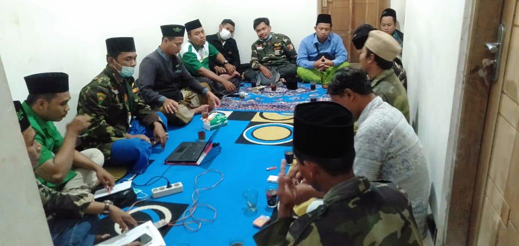 Dua Tim Admin Kartanu yang dibentuk PAC GP Ansor Jambon menyatakan siap menyukseskan program Kartanu