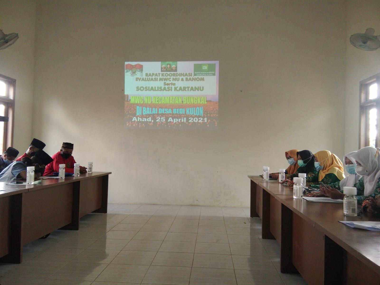 Pengurus Banom NU di Bungkal dilibatkan dalam Tim Kartanu Ranting NU