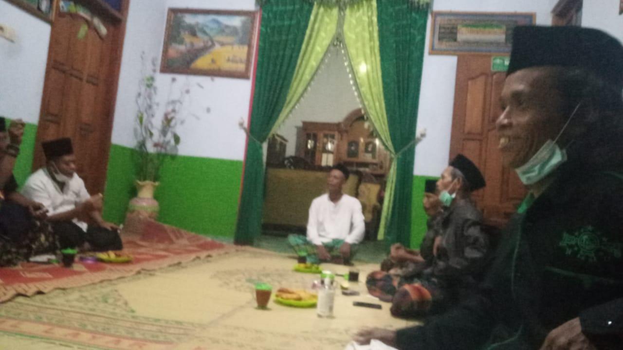 Rapat Pengurus Ranting NU Karanglo Kidul, Jambon dalam rangka sosialisasi dan pembetukan Tim Kartanu Ranting setempat