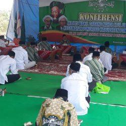 Suasana Konferensi MWC NU Ponorogo di Masjid MI Mayak- Tonatan, Sabtu (317) tertib prokes