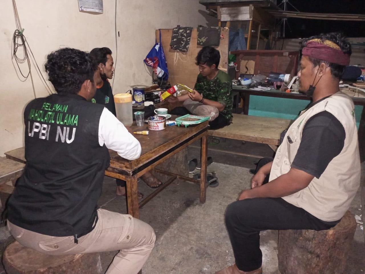 Basecamp Tim Relawan di TPST Tonatan