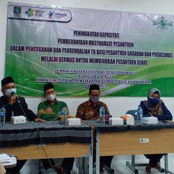 Drs.H. Fatchul Azis,MA, ketua PCNU Ponorogo saat membuka acara
