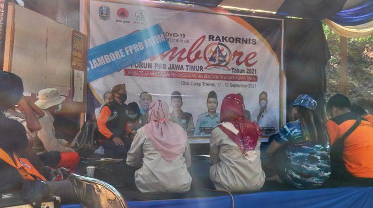 LPBI NU Ponorogo hadiri Jambore Penanggulangan Bencana di Jati jejer-Trawas- Mojokerto