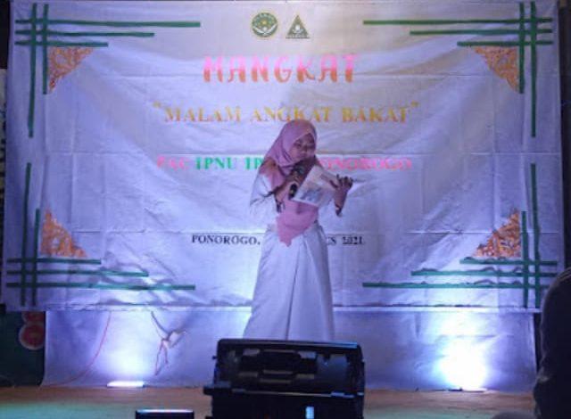 Salah satu tampilan pentas seni yang mengapresiasi anggota IPNU-IPPNU kecamatan Ponorogo.