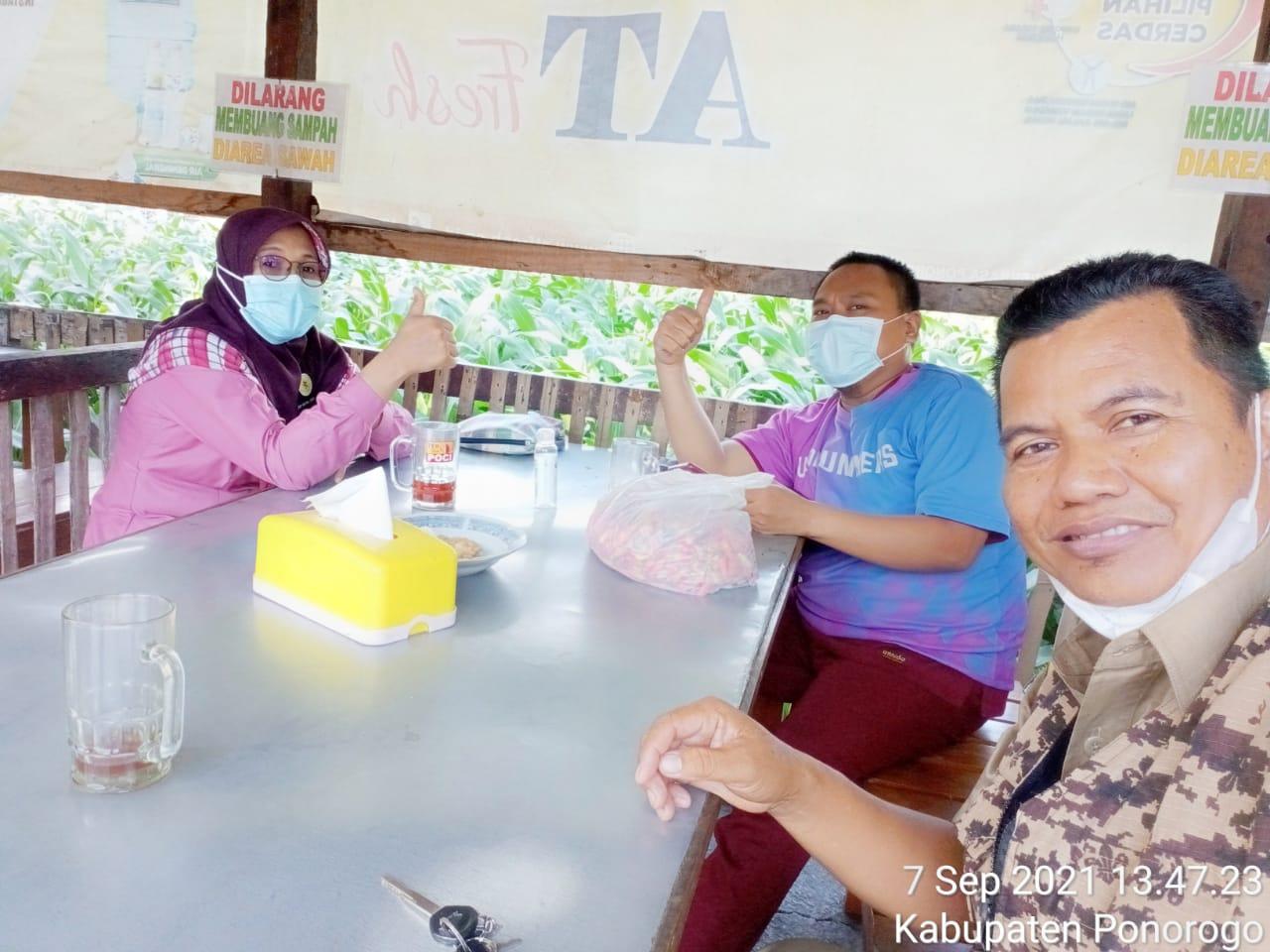 Tim NU Care Pasien Covid-19 PCNU Ponorogo berkomitmen mensukseskan program Peduli Kyiai 🙏