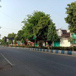 Kibaran bendera NU di sepanjang Jl.Diponegoro