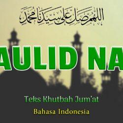 Khutbah Singkat Bahasa Indonesia NU - Maulid Nabi